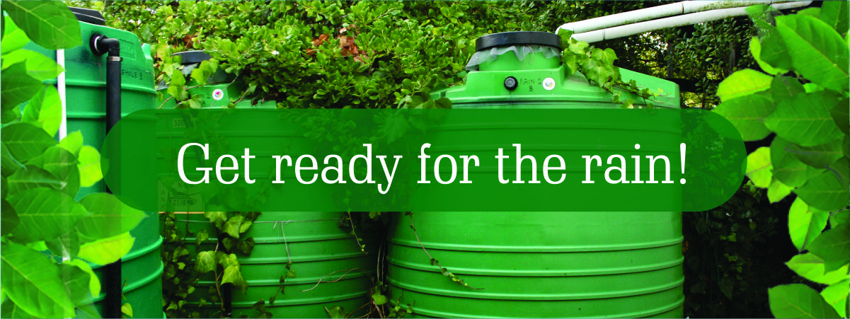 Get Ready for Rainwater Harvesting