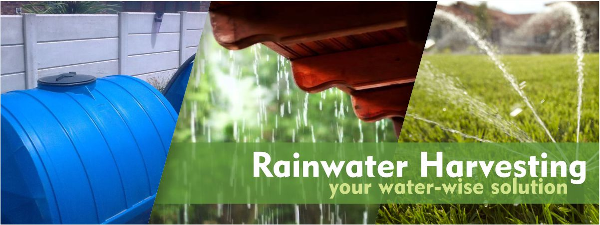 #WaterCrisis rainwater harvesting