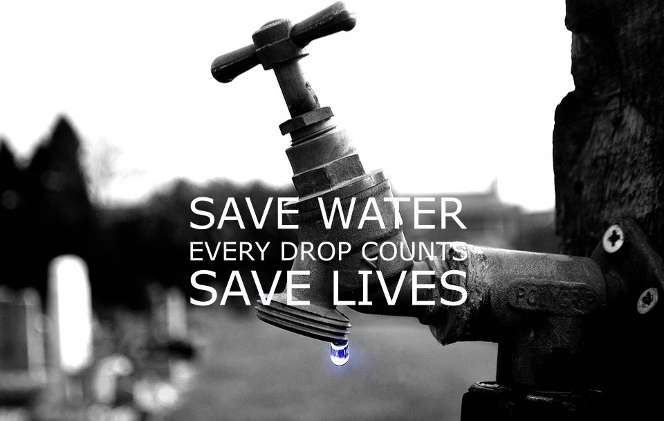 save water save lives be water-wise